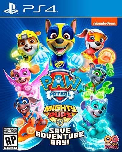 PAW Patrol: Mighty Pups Save Adventure Bay (Playstation 4)