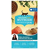Rachael Ray Nutrish Premium Natural Dry Cat Food, Real Salmon & Brown Rice Recipe, 3 Pounds