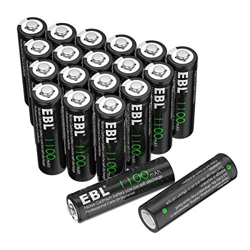 EBL AA Rechargeable Batteries fo...