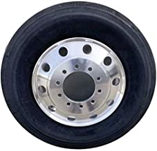 UNIRACING Aluminum Wheels with Tire 11R 16PR Trailer Truck Tires + 22.5 x 8.25 Alcoa Classic Style Magnesium Aluminum Alloy Truck Wheel 4Pack