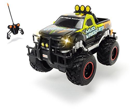 Dickie Toys - RC Ford F150 Mud Wrestler, Ferngesteuertes Auto für drinnen und draußen, 10 km/h, XL Monster Truck, mit Fernbedienung, für Kinder ab 6 Jahren