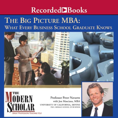 Big Picture MBA audiobook cover art