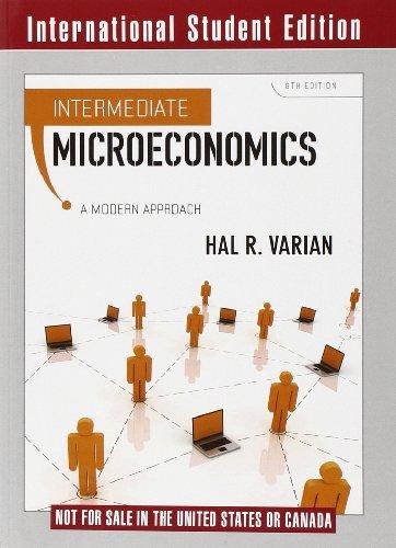 Intermediate Microeconomics: Modern Approachの詳細を見る