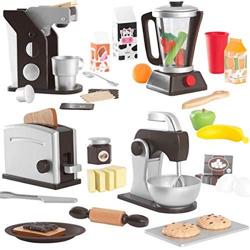 KidKraft Küchenzubehör-Set Espresso