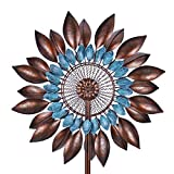 Win Wind Spinner-Outdoor Metal Kinetic Garden Wind Spinners - Decorative Lawn Ornament Wind Mills - Unique Outdoor Lawn and Garden Décor …