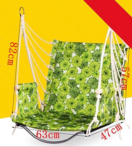Ailin home- Chaise de jardin suspendue de hamac de jardin, siège de balançoire pour tous les espaces intérieurs ou extérieurs, chaise de corde de dortoir étudiant universitaire, charge: 150 kg ( Couleur : #10 )