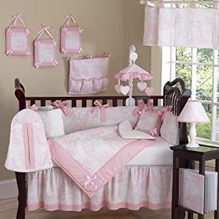 Best pink and white toile crib bedding Reviews