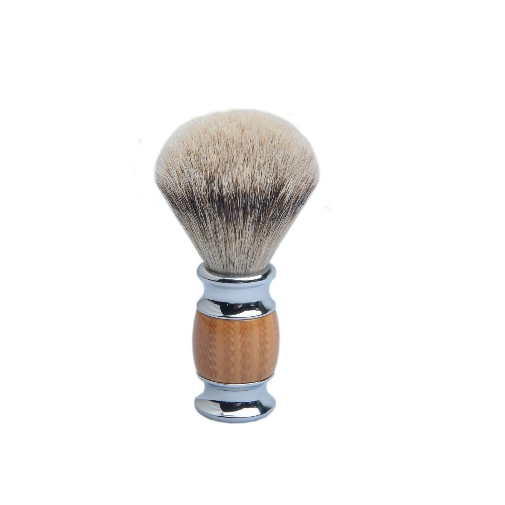 CSB Silvertip Badger Shaving Brush Don't miss the campaign Alloy Han Surprise price Design Wood Resin