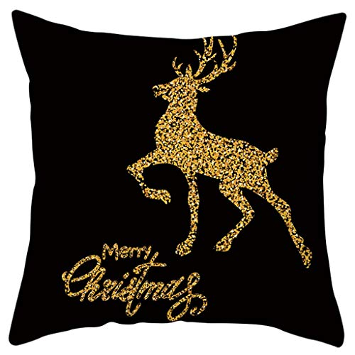 Fasclot Merry Christmas Printing Dyeing Sofa Bed Home Decor Pillow Case Cushion Cover Home & Garden Pillow Case