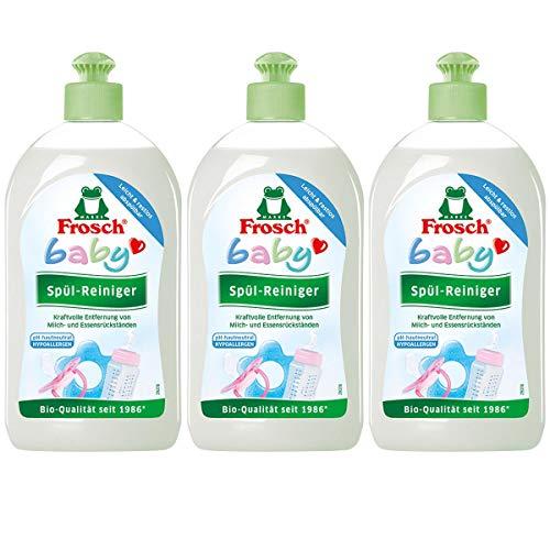 bebé de rana x 3 lavar limpiador 500 ml