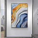 ganlanshu Peinture sans Cadre Artiste de Couleur exquise lumière Peinture à l'huile sur Toile de Peinture à l'huile Abstraite de Haute qualitéCGQ8451 40X60cm