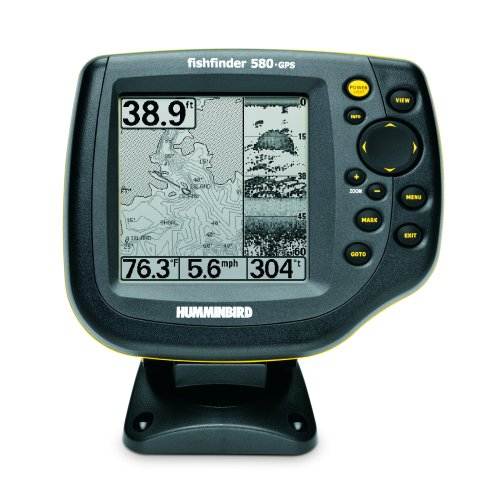 Humminbird 580 Combo 5-Inch Waterproof Marine GPS and Chartplotter
