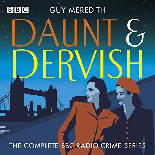 Daunt & Dervish audiobook cover art