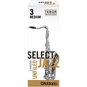 Rico Select Jazz Soprano Saxophone Reeds 10-pack Filed Strength 3 Soft