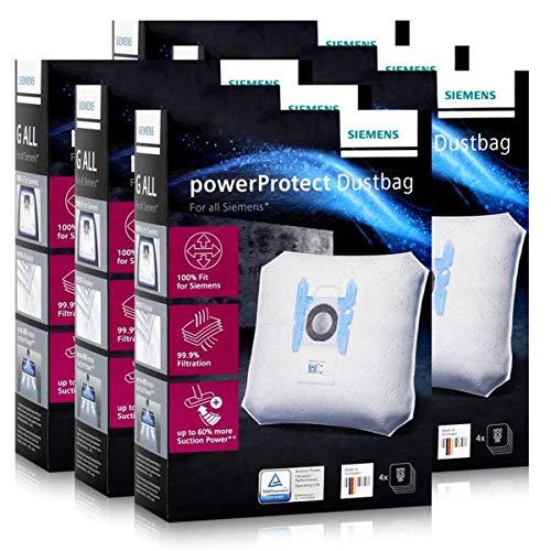 Siemens Staubsaugerbeutel powerProtect VZ41FGALL - Typ G ALL (6er Pack)