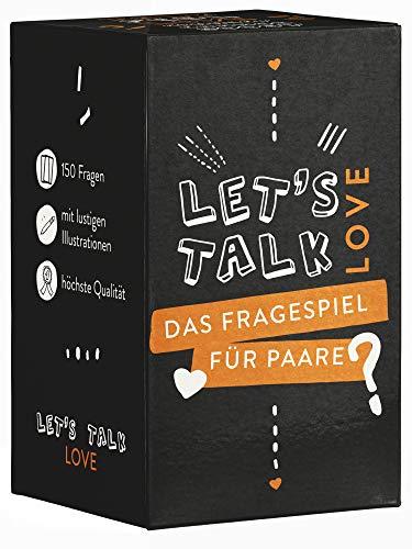 Let's Talk Love - Paar Spiel - Das Beste Fragespiel für Paare und Verliebte - Geschenk für Sie und Ihn - Geschenkidee Jahrestag - glückliche Beziehung - Lifeboard Partnerschaft