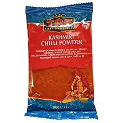 Kashmiri Chilli Powder It is an essential ingredient of Indian cooking Includes Whole & Ground Spices, Almonds, Cashews, Roasted Pistachios, Green Raisins, Sugar Candy, Roasted Chick Peas, Dried Dates & Dried Appricots 100g Added to hot oil they turn...