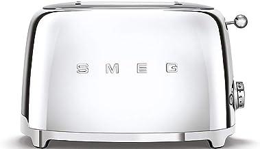 Smeg Silver Toaster - TSF01SSUK