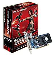 ECS NGT220C 1GQS F1 ECS NGT220C-1GQS-F1 GeForce GT 220 1GB 128-bit DDR2 PCI Express 2.0
