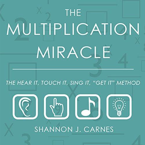The Multiplication Miracle audiobook cover art