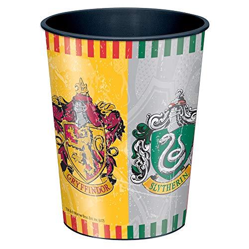 Harry Potter 59107 Tazza di plastica con 4 lati diversi, Multicolore