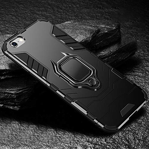 YWCXMY-LDL KISSCASE Armadura teléfono Caso for Xiaomi redmi 6 6pro Nota 4X 5 6pro 7 8 Pro Caso for Xiaomi MI 8 9T A1 A2 MAX 3 (Color : A-Black, Size : For Xiaomi Redmi 6)