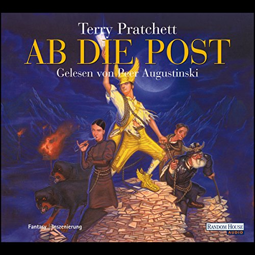 Ab die Post audiobook cover art