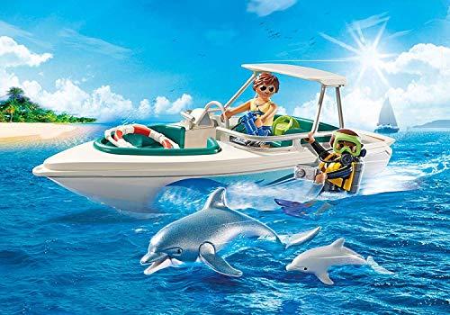 Playmobil Family Fun - Barco de buceo