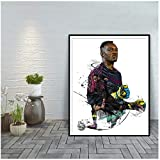 WEUEWQ Poster Steve Mandanda Modern Art Print Home