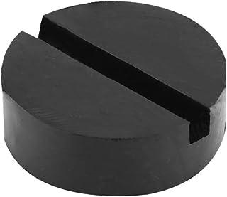 Auto Abstützheber Dichtung, Universal Anstieg Dichtung Bodenheber Pads Schlitzrahmen Schiene Gummi Jack Pads Adapter Jack Stand Pads RV Schwarz