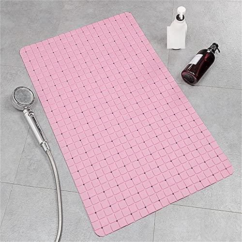Cerca de 40x70cm Mat de baño Azul Rosa Almohadilla Antideslizante Anti-Mine Health y Ambiental Drenaje rápido-C4 Alfombra de baño para niños pequeños y adultosRespetuoso con el Medio Ambiente y