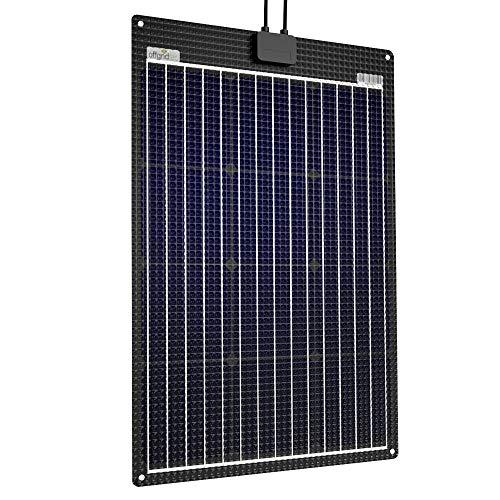 Offgridtec ETFE-AL 11040 Panneau solaire semi-flexible avec plaque en aluminium intégrée 60 W 12 V