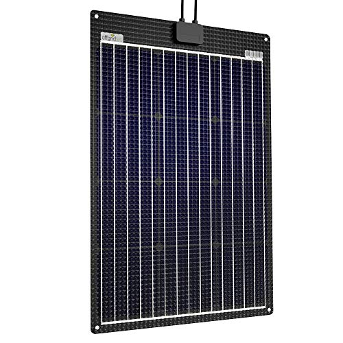 Offgridtec® ETFE-AL 60W 12V semiflexibles Solarmodul mit integrierter Aluminiumplatte 11040