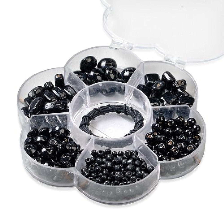 Knorr Prandell 12.5 cm Flower Bead Box, Black