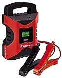 Einhell CC-BC 10 M Batterie, Tensione di Carica 6/12 V, Rosso/Nero, 3-200 Ah