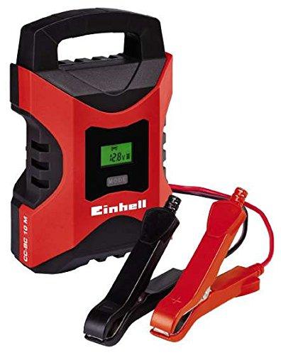 Einhell Batterieladegerät CC-BC 10 M bis 200 Ah (6V/12V, mikroprozessorgesteuertes Allround-Ladegerät)