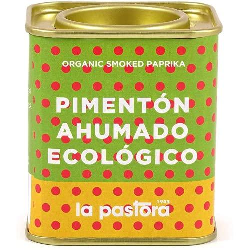 Paprika Affumicata Ecologica 100% Pura - 75 gr - Paprika Affumicata - Paprika in Polvere - Condisci i tuoi Piatti - Adatto ai Celiaci - Paprika Spagnola - Prodotto Gourmet La Pastora