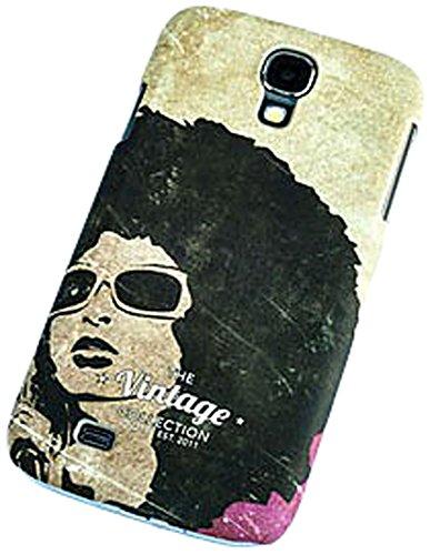 QIOTTI Curve-Cover per Samsung Galaxy S4 GT-I9505, Donna, Stile Vintage