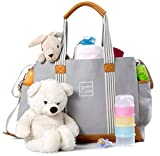 Best Diaper Bags For Twins - Diaper Bag for Girls and Boys, Large Capacity Review