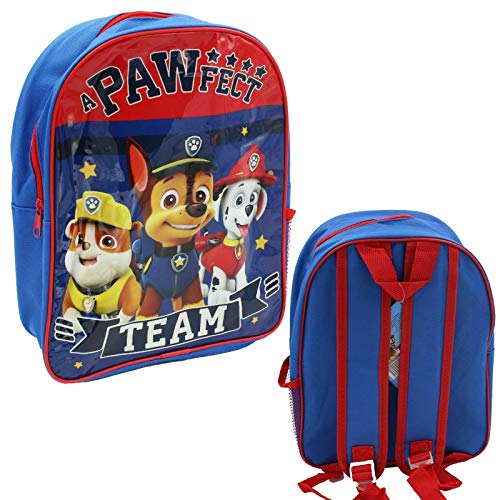 Mochila escolar con bolsillo lateral para niños y niñas