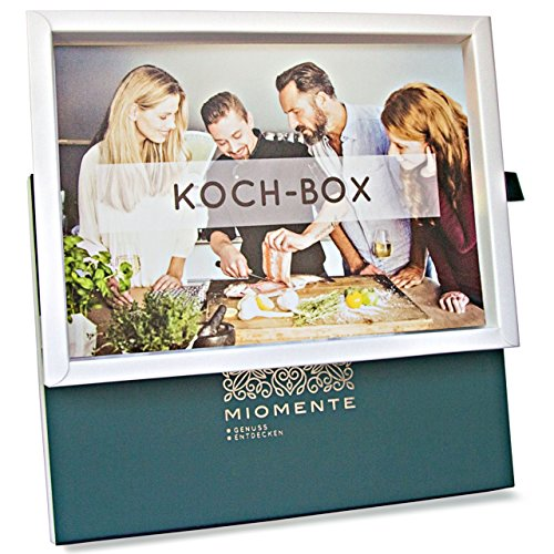 Miomente KOCH-Box: Kochkurs-Gutschein - Geschenk-Idee Erlebnisgutschein
