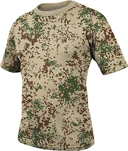 normani Bundeswehr Unterhemd T-Shirt nach TL (atmungsaktives Material) Farbe Tropentarn Größe XL