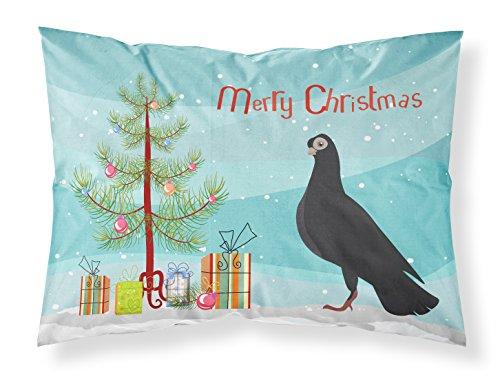 Caroline's Treasures Budapest Highflyer Pigeon Christmas Funda de Almohada, Multicolor, Estándar