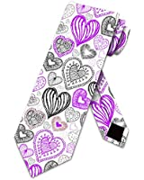 Valentines Day Ties Mens Holiday Necktie by Three Rooker