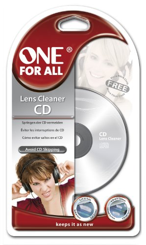 One For All SV 8336 Kit per la Pulizia CD\'s/DVD\'s