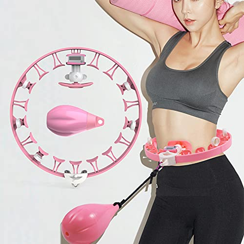 Kasimir Hula Hoop Intelligente Fitness con Calcolatrice & Rullo Rotante a 360 °, Design...