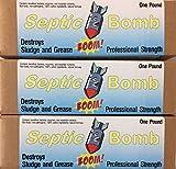 3 Pack of Septic Bomb! Septic Tank & Leachfield...