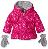Rothschild Baby-Girls Star Foil Jacket, Ruby Light, 12 Months