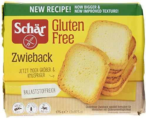 Schär Zwieback glutenfrei 175 g, 6er Pack (6 x 175 g)
