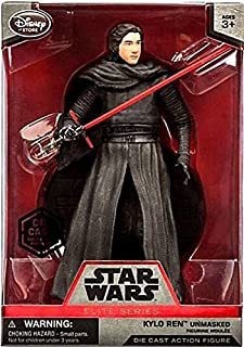 Star Wars 6 Elite Series Die-Cast Figure Kylo Ren Unmasked (Episode VII: A Force Awakens)